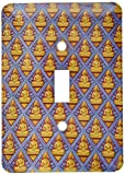 3dRose lsp_70848_1  Malaysia, Penang, Thai Buddhist Temple, Buddha As23 Cmi0145 Cindy Miller Hopkins Single Toggle Switch