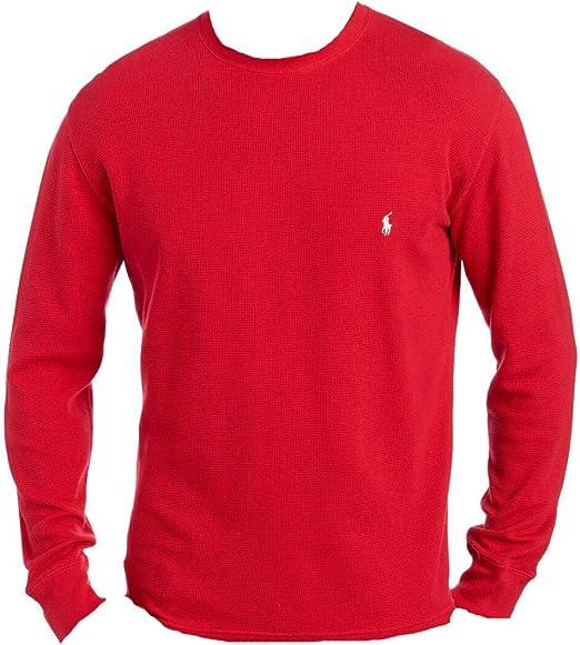 Ralph Lauren Polo - Camiseta de manga larga para hombre - Rojo ...