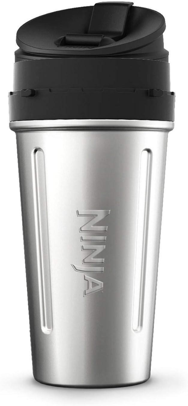 Amazon.com: Ninja Stainless Steel Nutri Ninja Cup Sip & Seal ...