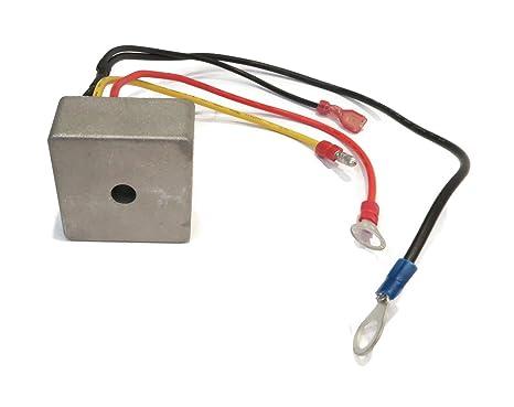 amazon com voltage regulator rectifier for club car 1015777 rh amazon com