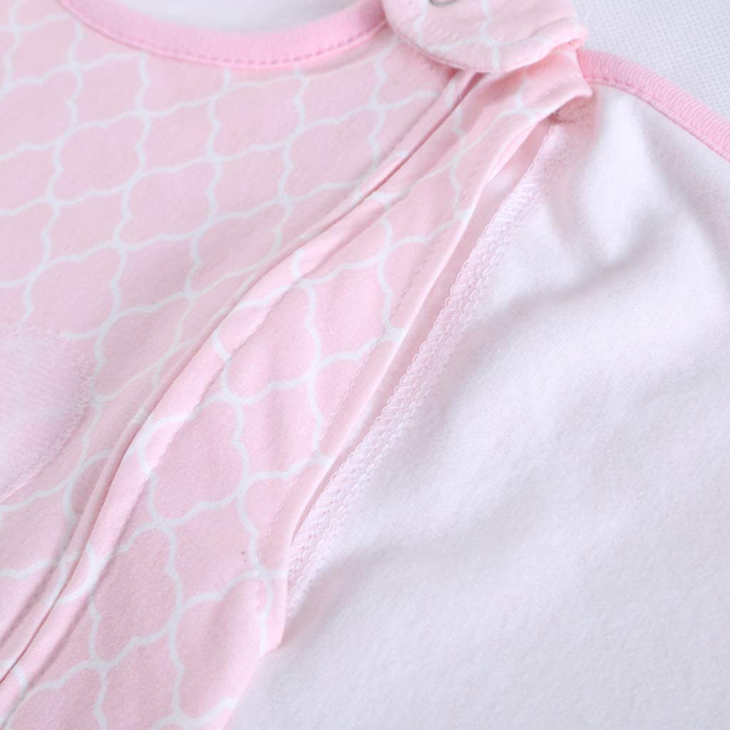 Rose Sac de Couchage Gigoteuse 3-12 mois Manyo Nid dange Cosy Couverture Emmaillotage B/éb/é en Coton