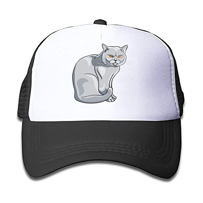 Amazon Com Hats Hand Draw A Cat Kids Toddler Adjustable Snapback