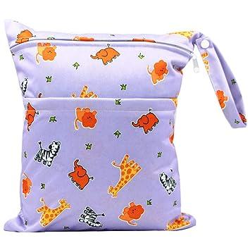 Vi.yo Bolso Infantil del pañal de la Bolsa de pañales del bebé Reutilizable Impermeable