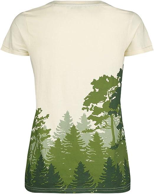 The Legend of Zelda Hyrule - Forest Camiseta Blanco Roto M: Amazon.es: Ropa y accesorios