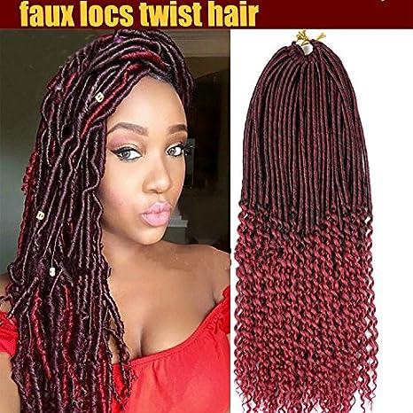 Synthetique Imitation Locs Lo8loc91025 Boucles Crochet Braid Cheveux