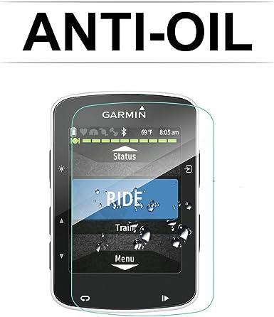 2 piezas] LFOTPP Protector de Pantalla para Garmin Edge 520 GPS ...