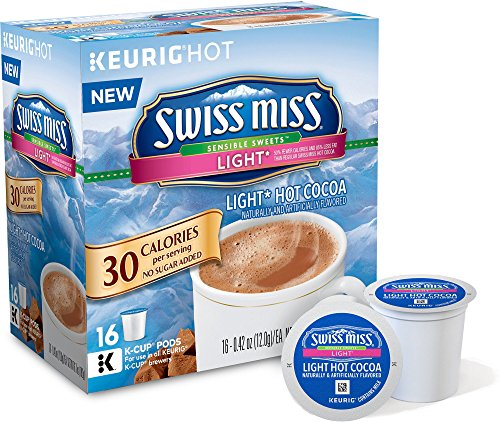 Swiss Miss Sensible Sweets Light Hot Cocoa K-Cups (16 Count)