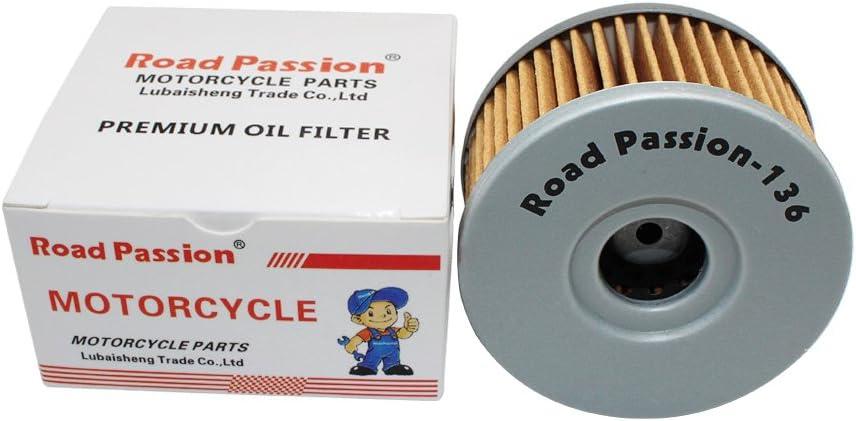 Road Passion /Ölfilter f/ür SUZUKI SP250 1982-1985 SG350 1991-1992 VL125LC INTRUDER 125 2000-2006