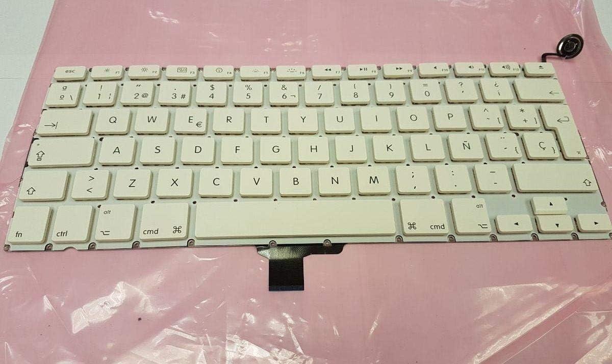 Compatible para Macbook Unibody A1342 13 Reemplazo Teclado ...