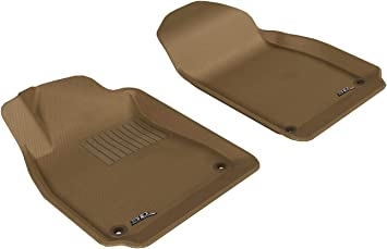 Amazon Com 3d Maxpider Front Row Custom Fit All Weather Floor Mat For Select Saab 9 3 Models Kagu Rubber Tan Automotive