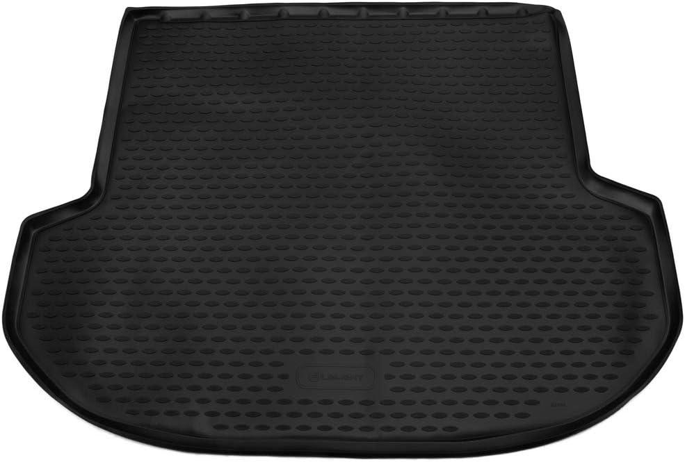 SUV 2017 Black Element EXP.ELEMENT01995B13 Tailored Custom Fit Rubber Boot Liner Protector Mat-Hyundai Santa Fe 5 Seats
