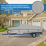 iCOVER Trailerable Boat Cover- Waterproof Heavy