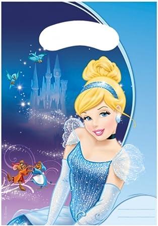 Disney Cenicienta DESTELLOS Fiesta De Cumpleaños Infantil Bolsas ...