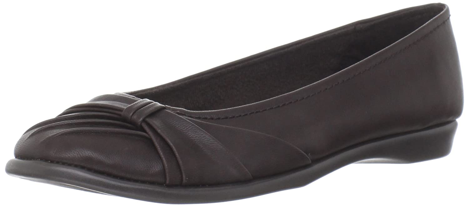Easy Street Women's Giddy Ballet Flat B007IP0I9S 7 B(M) US|Brown