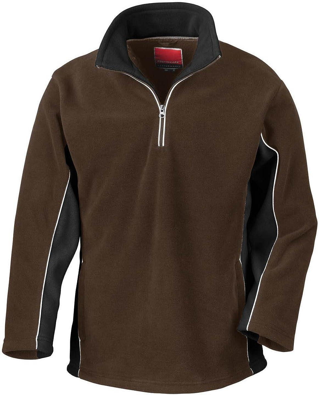 Result Tech 3 Zip Neck Sport Fleece