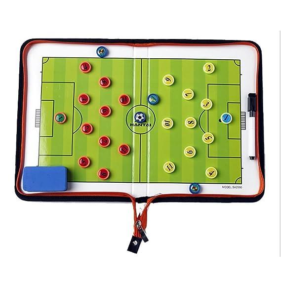 Amhii fútbol magnética táctica Entrenador portapapeles con ...