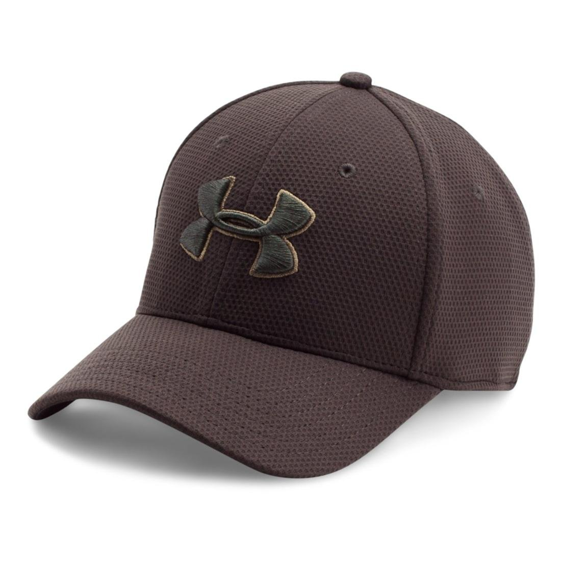 9694357f228 Amazon.com  Under Armour Men s Blitzing II Stretch Fit Cap  UNDER ARMOUR   Sports   Outdoors