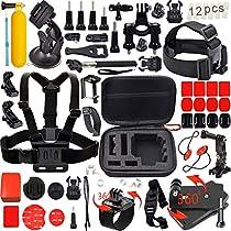Leknes 54-in-1 Kit de accesorios para GoPro
