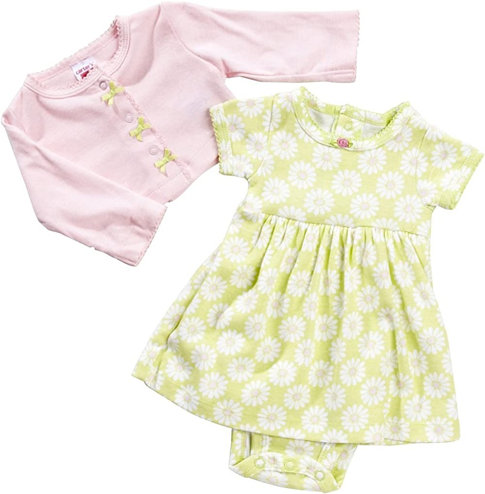 Carters Baby Girls 2 Piece Dress Set 121g456