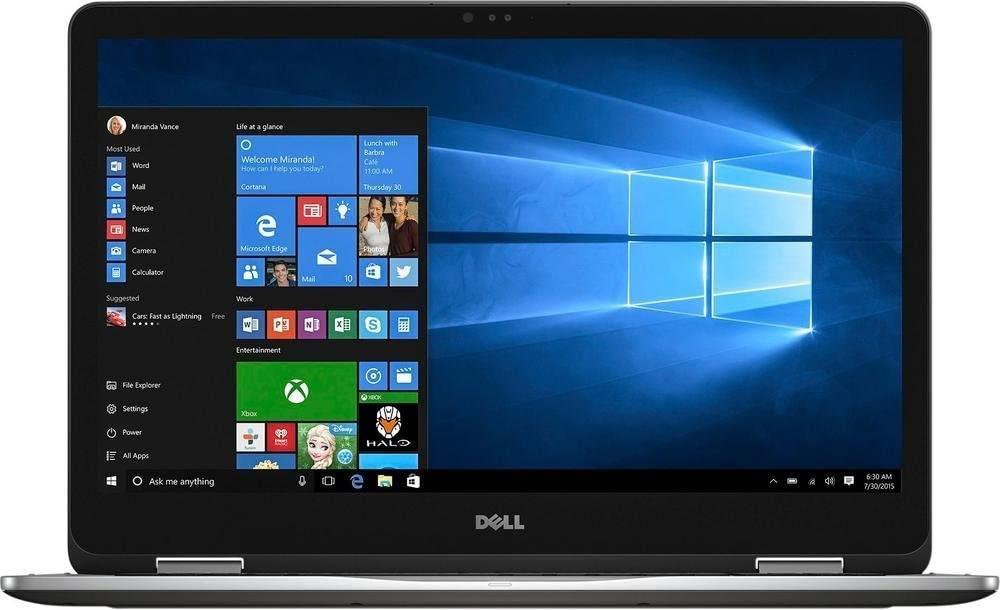 "Dell Inspiron 7000 2-in-1 17.3"" Full HD Touchscreen Gaming Laptop PC 