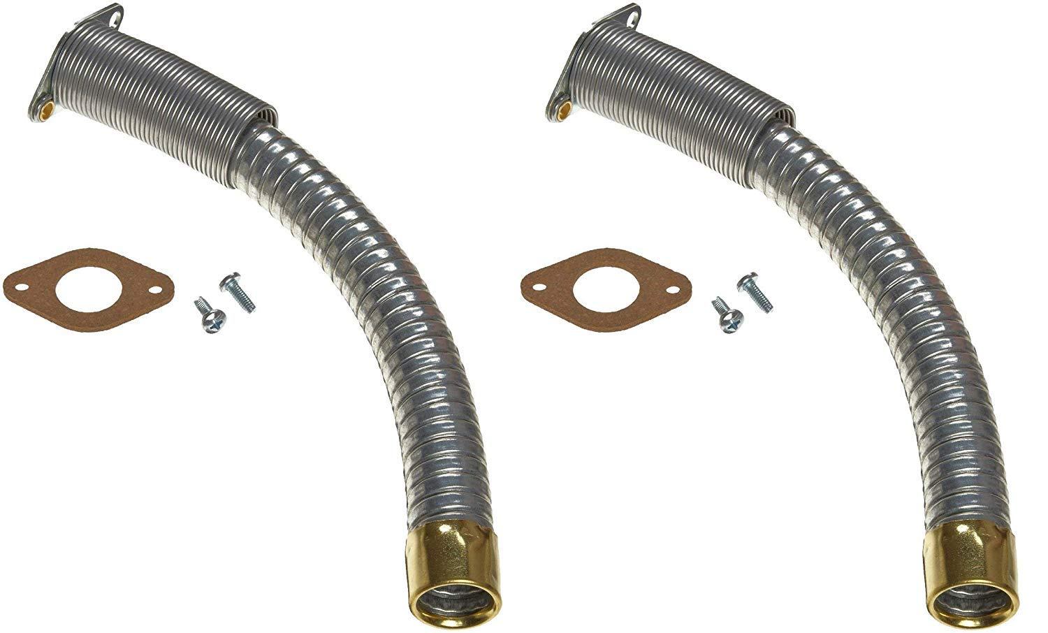 Justrite 11078 5/8'' Diameter x 9'' Long Flex Hoses for Type II Safety Can (Pack of 2)