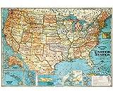 Decorative Wrap 20X28 Usa Map