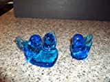 2 Bluebirds Of Happiness Pieces 1 Signed Leo Ward