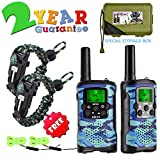 Aikmi Walkie Talkies for Kids 8 Channel 3 KM Long Range Ingenious Communication Gadget Preventing Myopia Toys Best Birthday Gifts for 4-6 year old Boys Fit Outdoor Adventure Game Camping idea