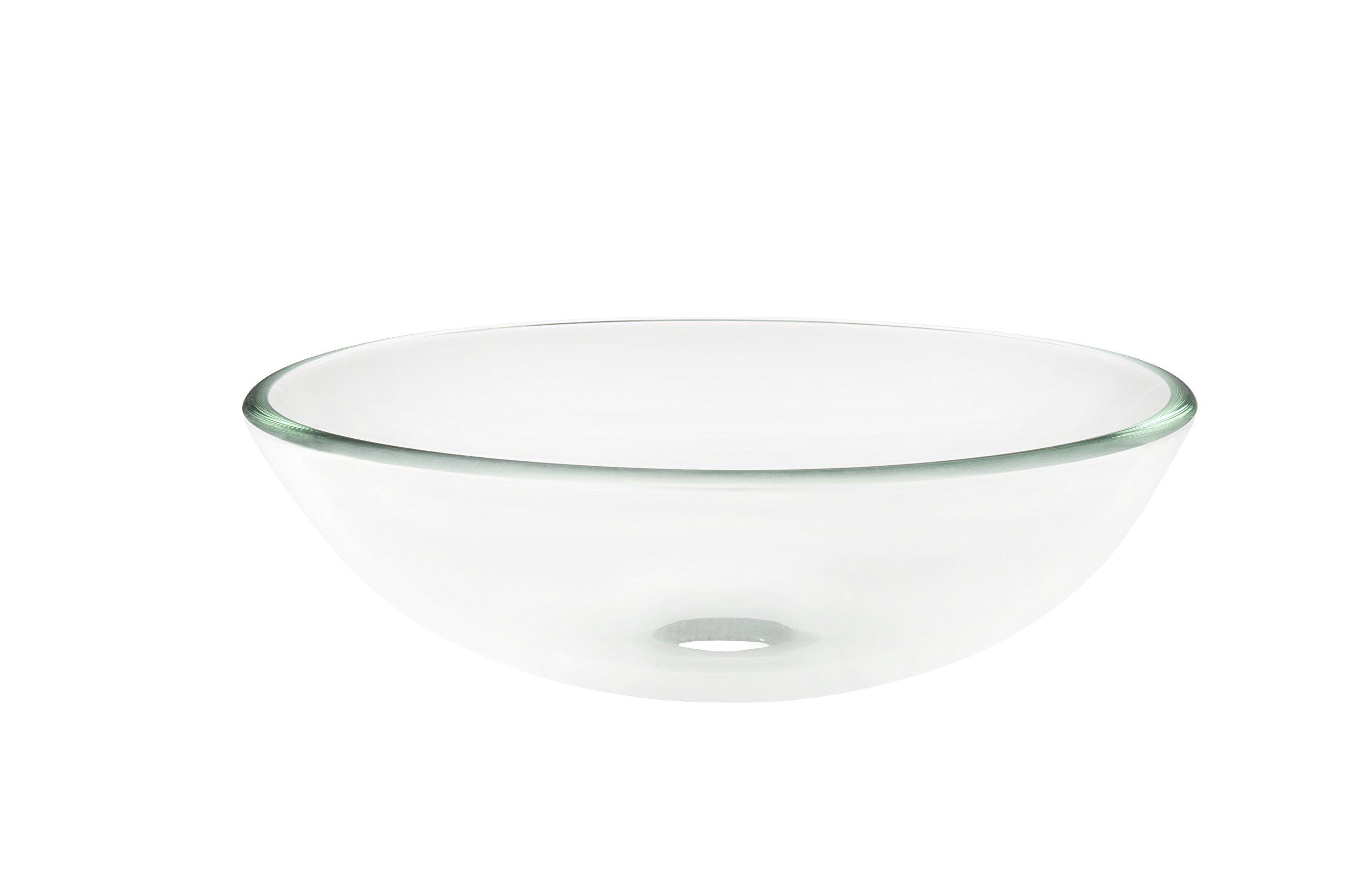 Novatto BONIFICARE Glass Vessel Bathroom Sink