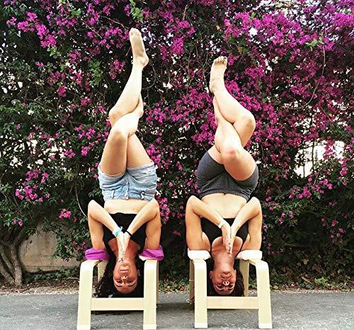 Amazon.com: Silla de yoga con reposacabezas, banco de ...