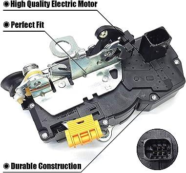 Amazon Com Fexon Door Latch Lock Actuator Motor Rear Left Replacement For 2006 2011 Impala 931 332 10338777 15277755 20790501 25876457 Automotive