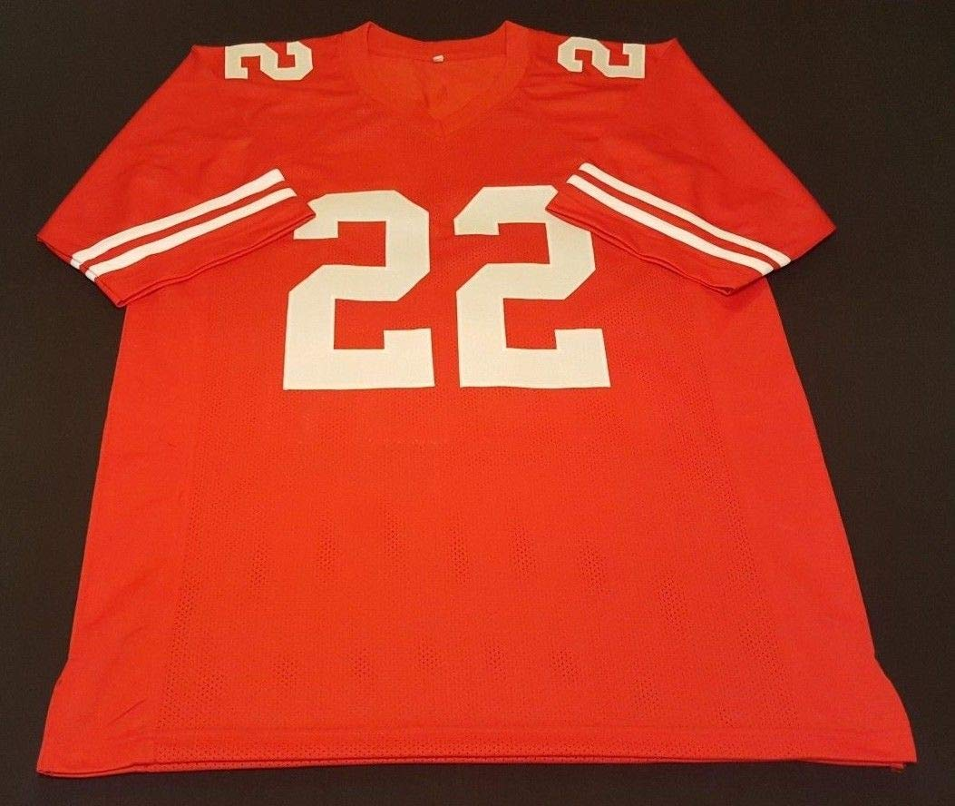 c283654c5 Matt Breida 49ers Autographed Signed Authentic Style Custom Jersey COA  Beckett - Size XL at Amazon's Sports Collectibles Store