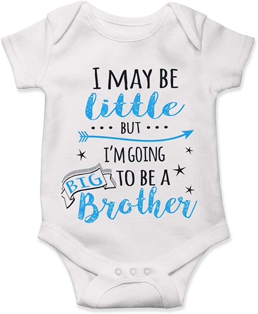 Lucky Star Big Brother I May Be Little But Im Going to Be A Big Brother Baby Pregnancy