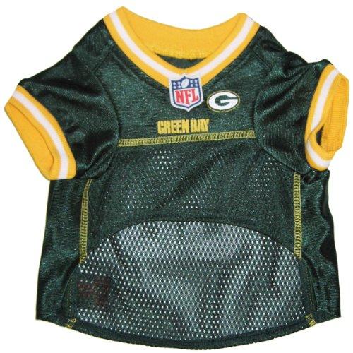 Pets First NFL Green Bay Packers Jersey, XL, My Pet Supplies