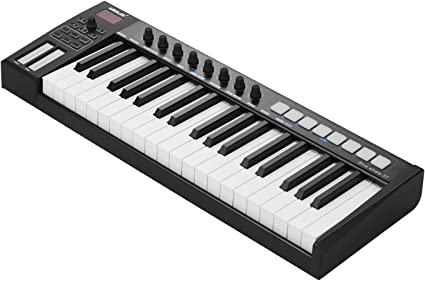 Muslady WORLDE Blue whale 37 Teclado Controlador USB MIDI ...