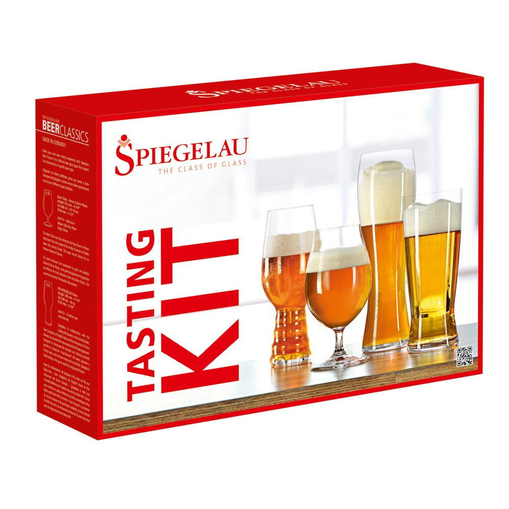 Spiegelau 4991693 Craft Beer Tasting Kit set of 3