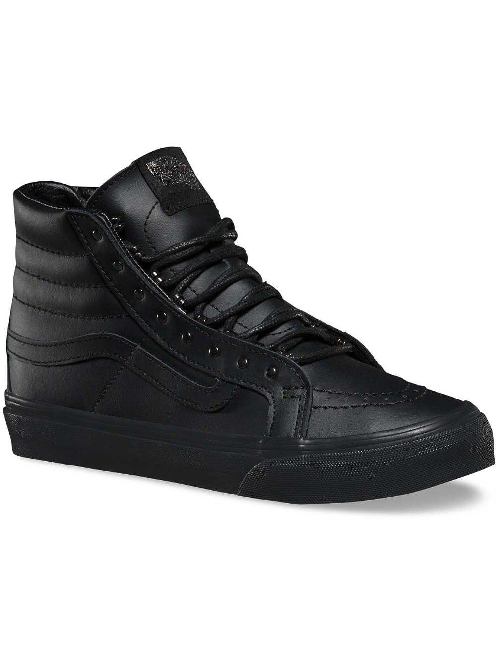 Vans Unisex-Erwachsene Sk8-Hi Slim Hohe Sneakers  39 EU (rivets) gunmetal/black