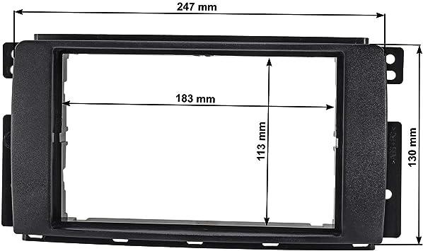 Tomzz Audio 2451 037 Doppel Din Radioblende Kompatibel Elektronik