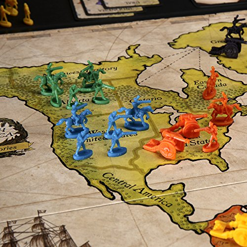 Risk - Strategy War Board Game for Kids Ages 10 and Up