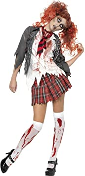 Disfraz de colegiala Zombie L 44/46 high school de disfraces disfraz ...