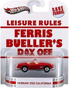 Hot Wheels Retro Ferris Buellers Day Off 1 55 Die Cast Car Ferrari 250 California By Mattel Amazon De Spielzeug