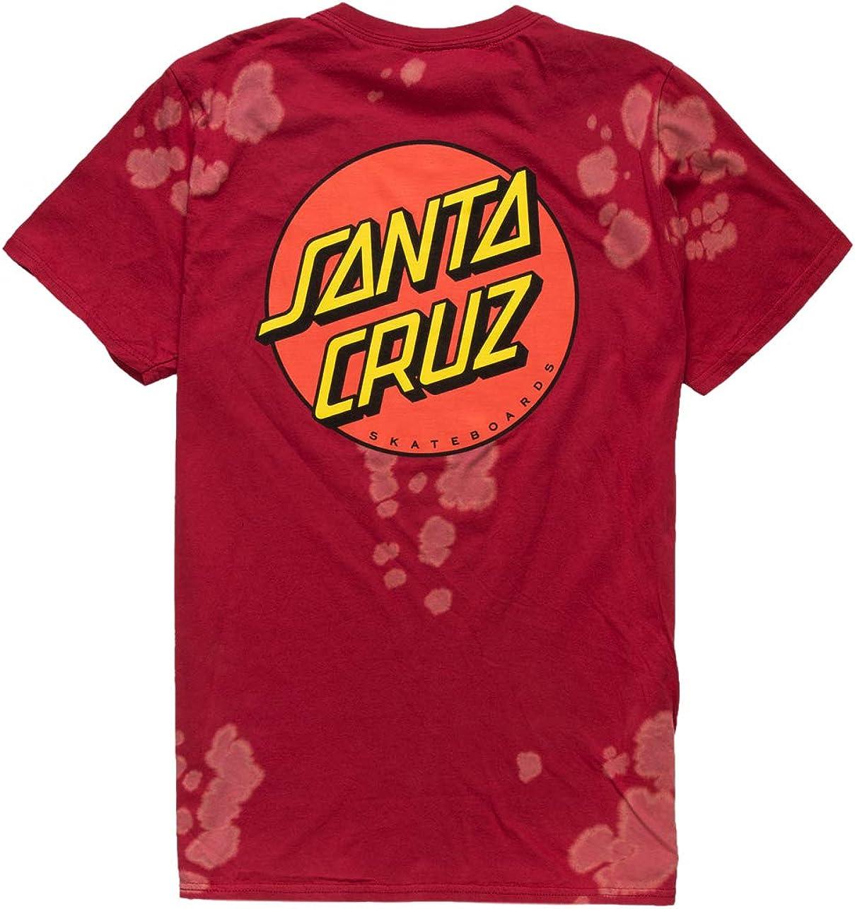 Santa shopping Cruz Mens Free Shipping New Classic Shirt Regular Short-Sleeve