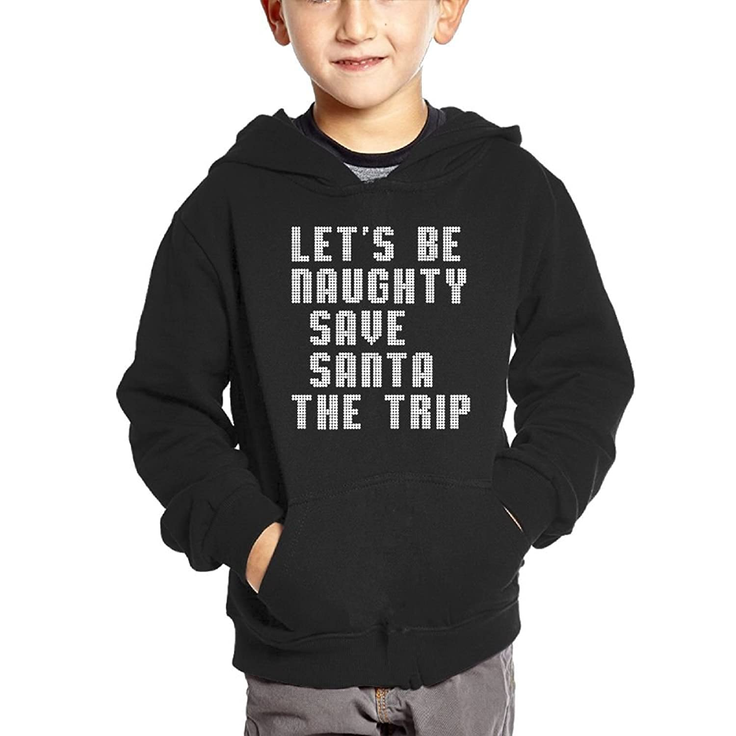 Dlnd Baby Clothes Hooded Sweatshirt Let S Be Naughty Save Santa The