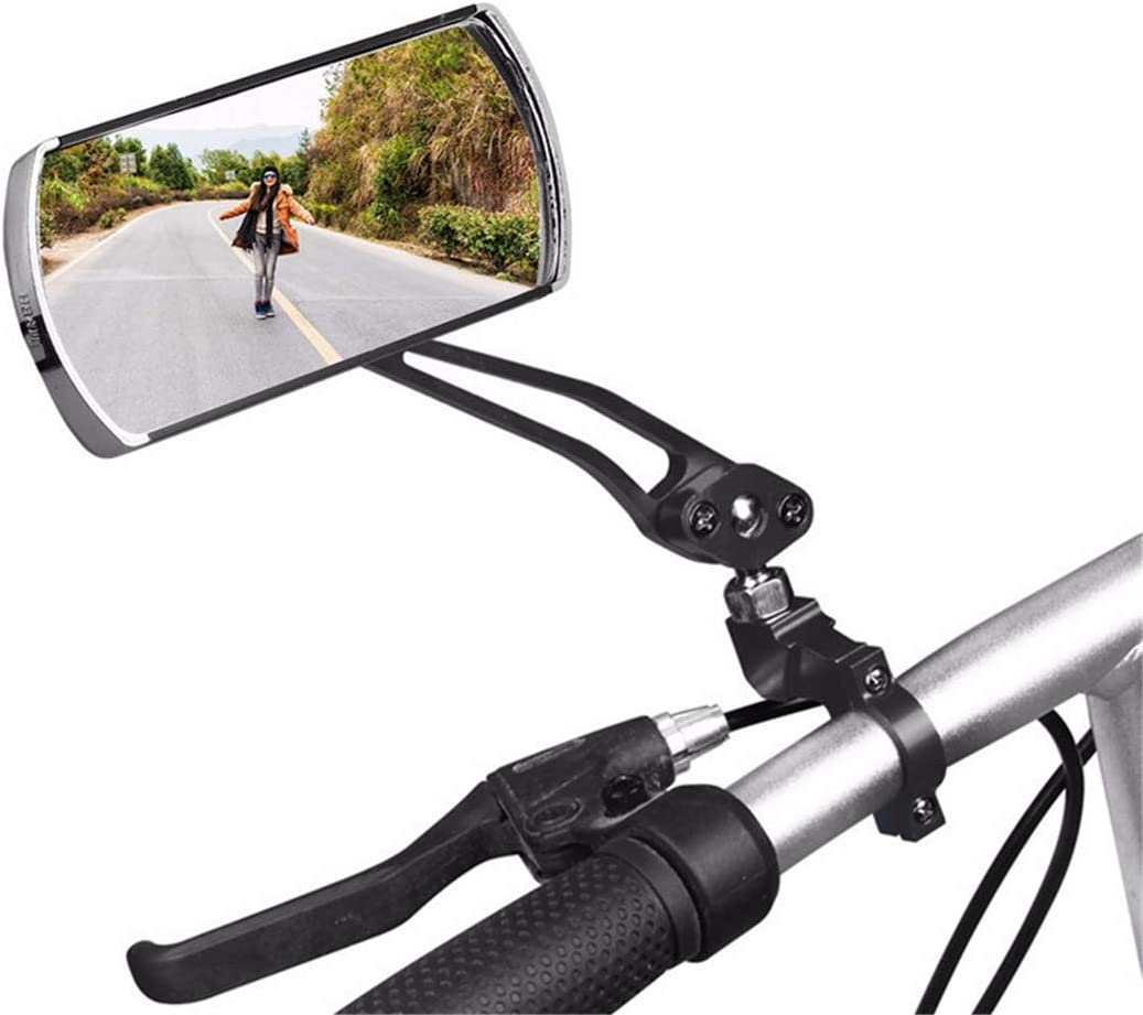 360° Flexible Safe Rear View Mirror Bicycle Cycling Bike Handlebar Rearview NEW