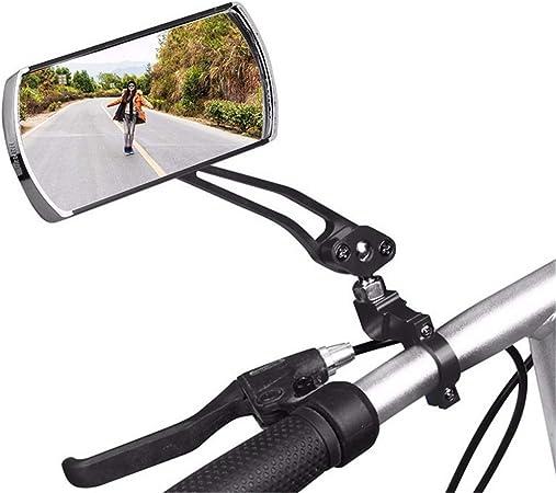 Universal Bike Helmet Mirror Adjustable Angle MTB Road Bicycle Rear Views Soft