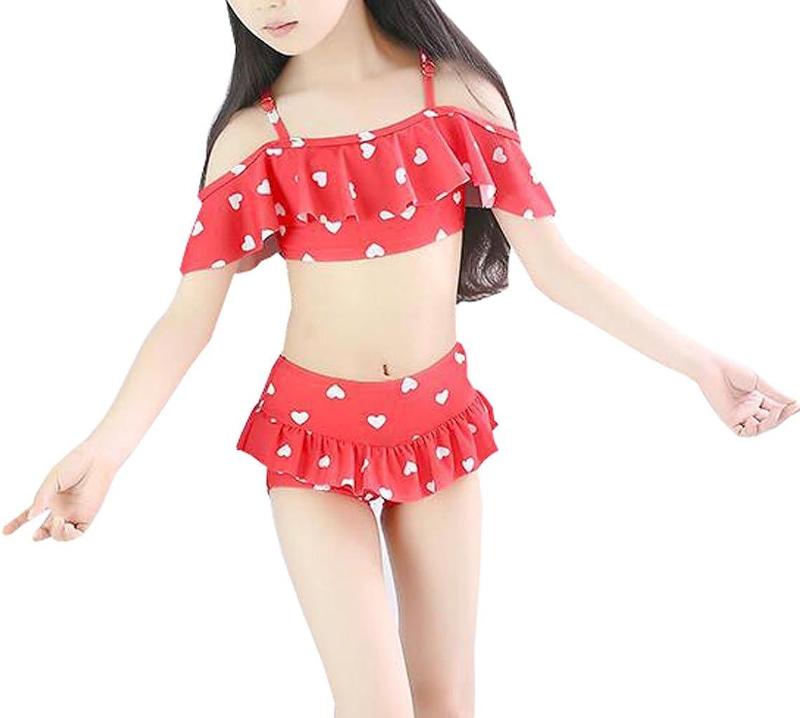 Suplove Girls Bikini Bathing Split Swimwear Baby Child Beachwear