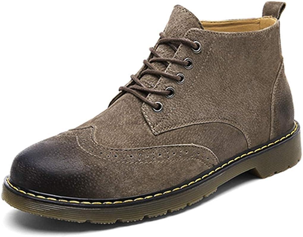 [イグル] ブーツ マーティンブーツ メンズ おしゃれ かっこいい 超軽量 男性 カジュアルブーツ 柔らかい 防撞 滑り止め 遠足 クラシック 通勤 通学 上品 疲れない スポーツ マウンテンブーツ ワークブーツ 作業靴 紳士靴 コーヒー 26.5 cm