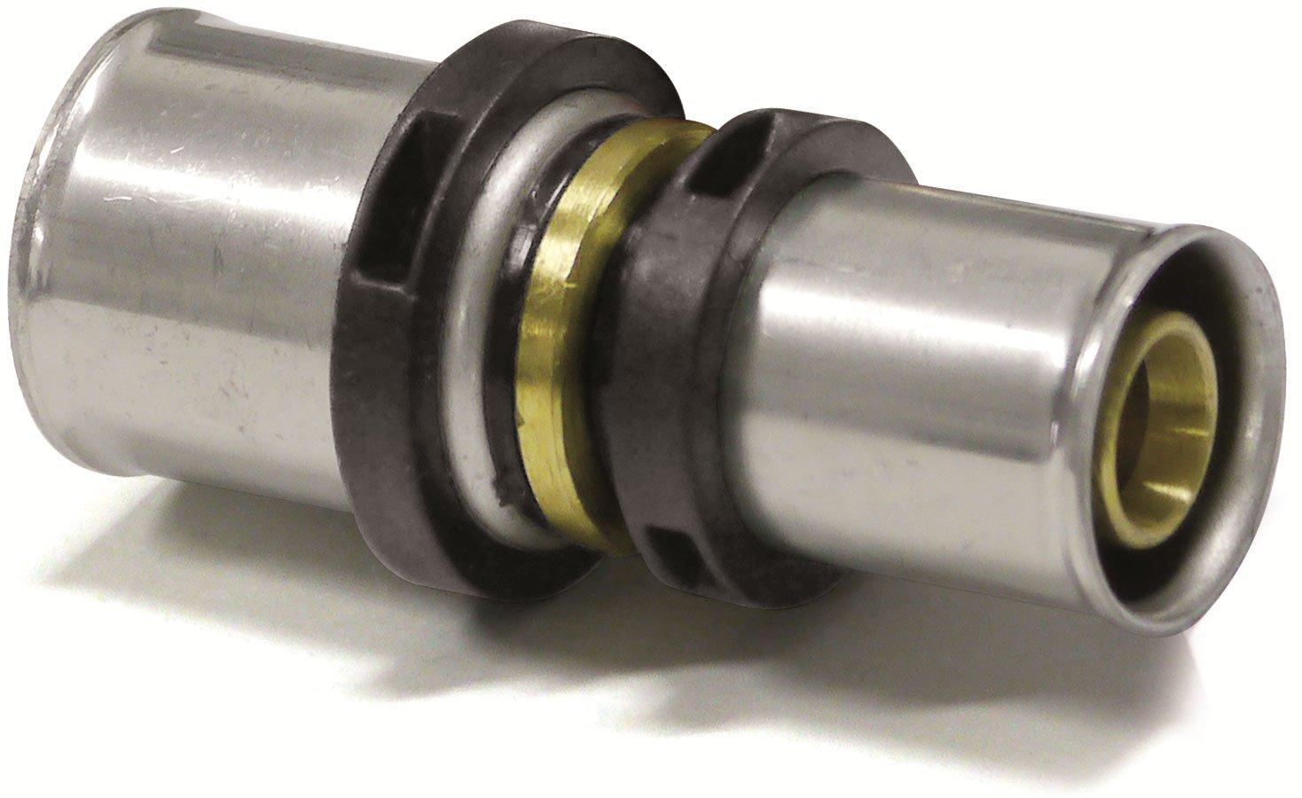 Reduzierung 26x3mm 16x2mm Pipetec Press DVGW TH Pressfitting