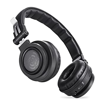 Auriculares inalámbricos Bluetooth, Auriculares hi-fi estéreo, Auriculares plegables, Protectores de alta