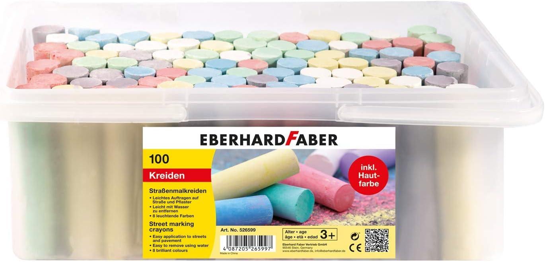 Eberhard Faber 526512 Stra/ßenmalkreide 20er Eimer